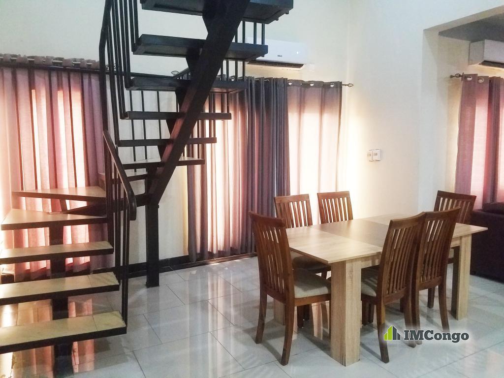A louer Appartement meublé (Court Séjour)  - Quartier Salongo  Kinshasa Kintambo