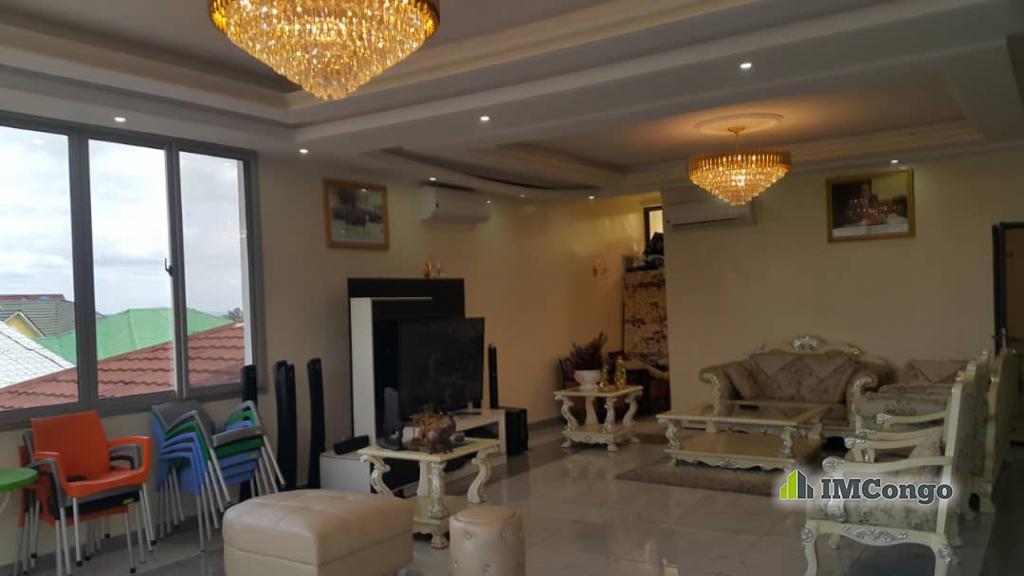 A louer Maison meublée - Quartier Météo  Kinshasa Ngaliema