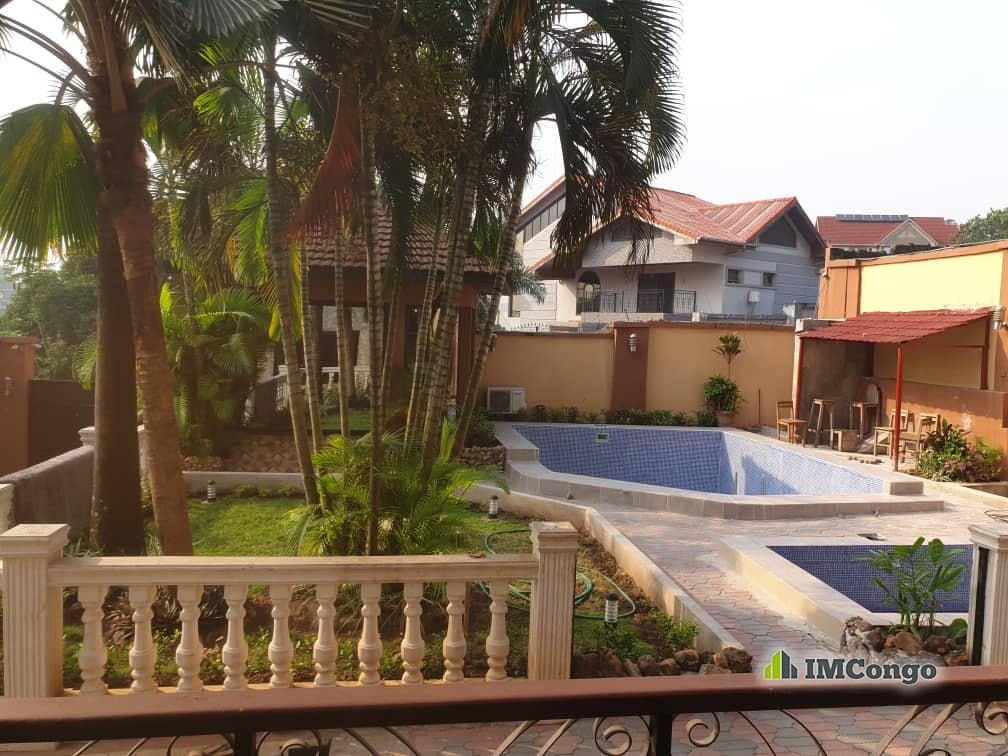 A louer Maison meublée - Quartier Ma campagne Kinshasa Ngaliema