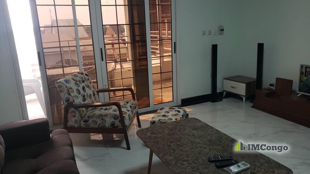 A louer Appartement meublé - Quartier Lisala Kinshasa Kintambo