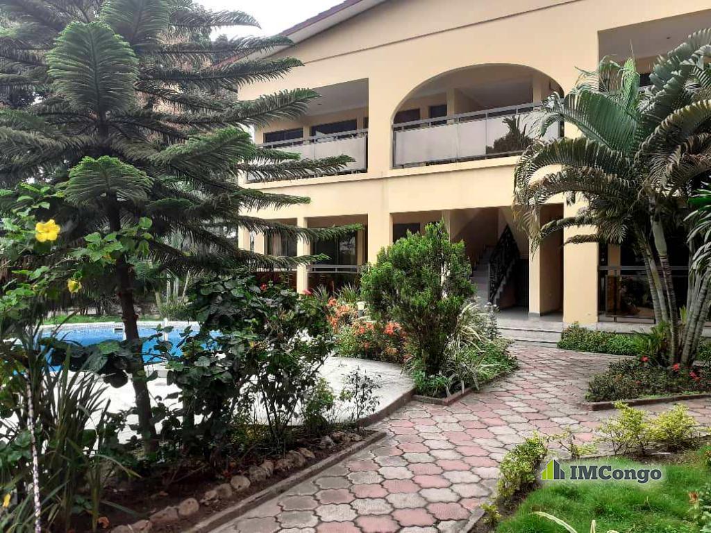 A louer Appartement meublé - Quartier Résidentiel Kinshasa Limete