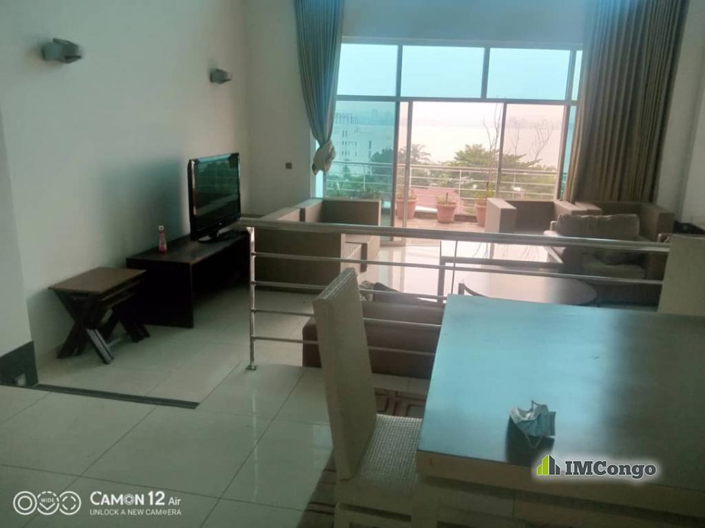 A louer Penthouse meublé- Centre-Ville  Kinshasa Gombe