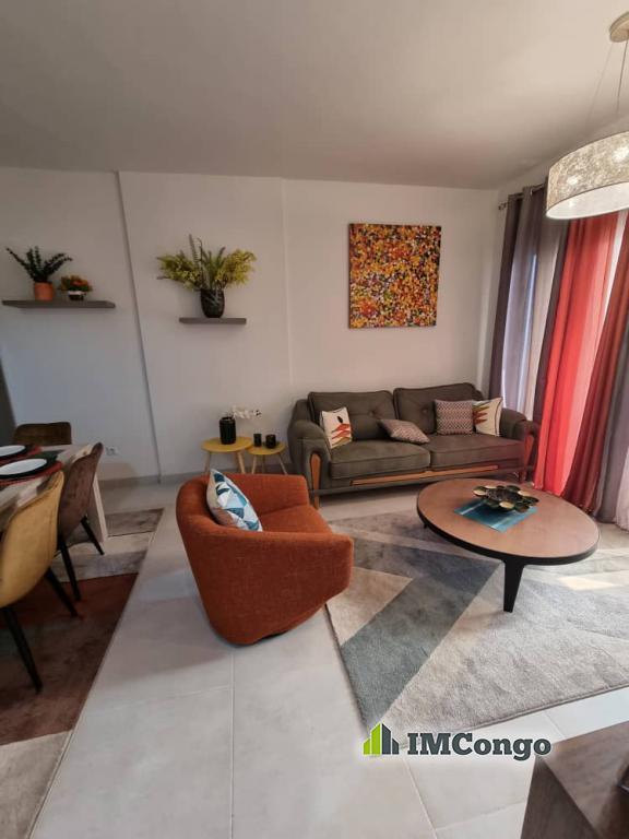 A louer Appartement Meublé - Quartier Centre-ville  Kinshasa Gombe