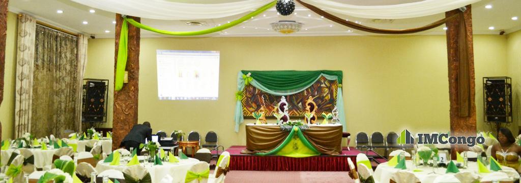 A louer Salle de fête - Africana Palace Kinshasa Lingwala