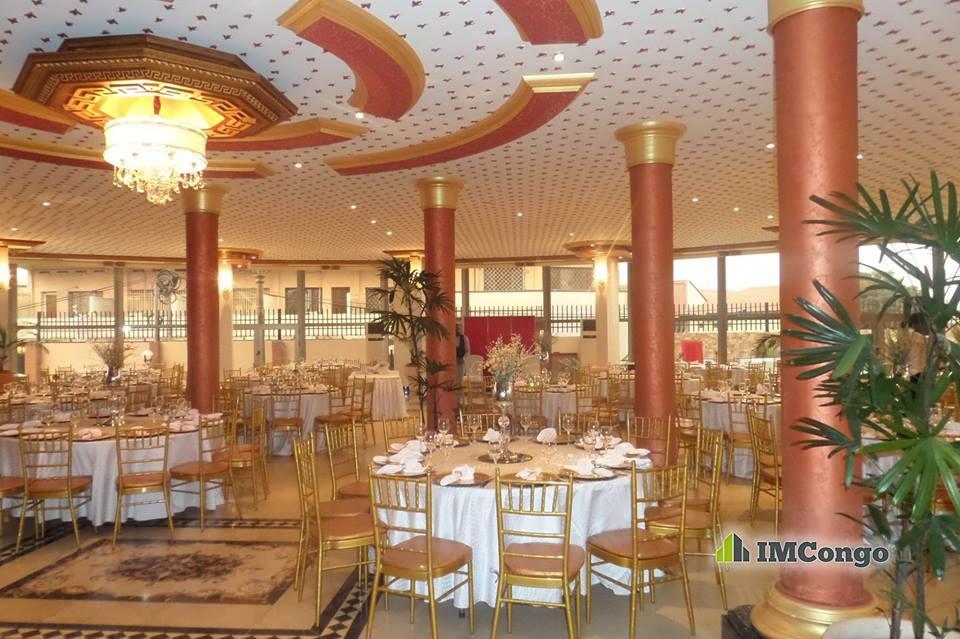 A louer Salle de Fête - La Main d'or (Béatrice Hôtel****) Kinshasa Gombe