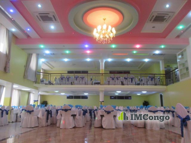 A louer Salle de Fête - Teddy Hall Kinshasa Kintambo