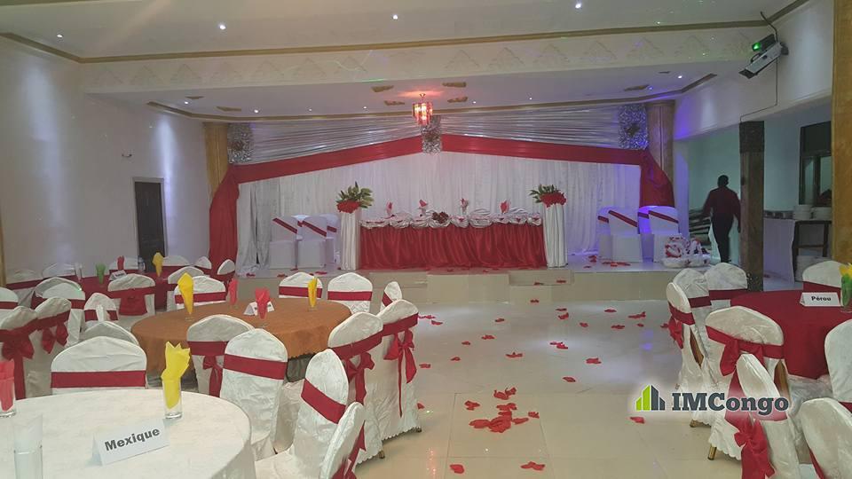 A louer Salle de Fête - Empreinte Kinshasa Bandalungwa