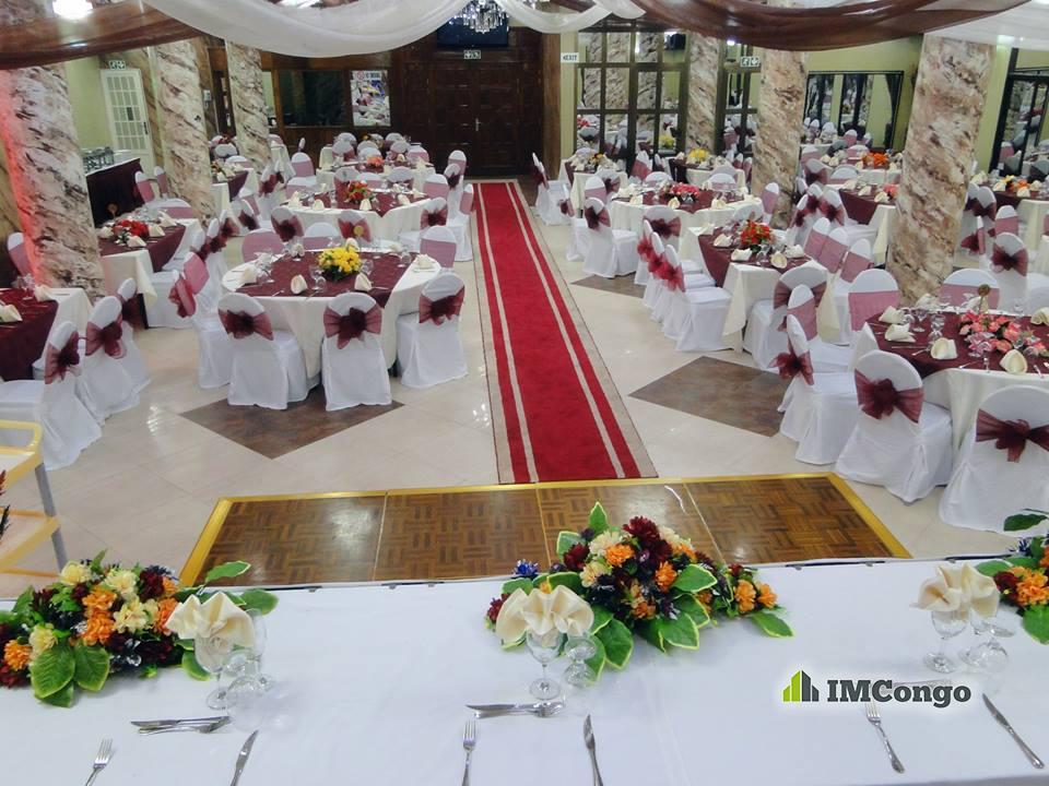 A louer Salle de Fête - CARPE DIEM Kinshasa Lingwala