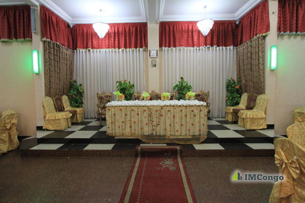A louer Salle de Fête - Jadoby Kinshasa Kinshasa