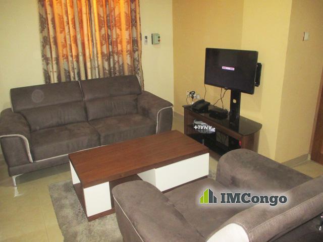A louer Appartement meublé 1 B - Quartier Bon-Marché Kinshasa Barumbu