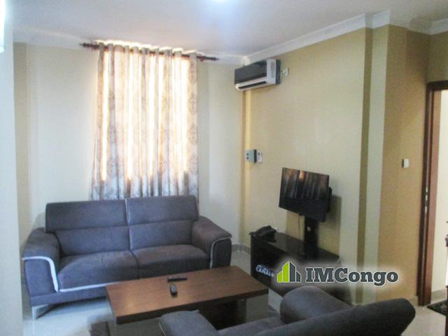 A louer Appartement meublé 2 A - Quartier Bon-Marché Kinshasa Barumbu