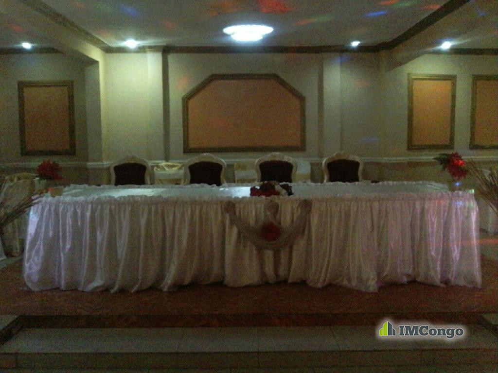 A louer Salle de Fête PHILADELPHIE Kinshasa Limete