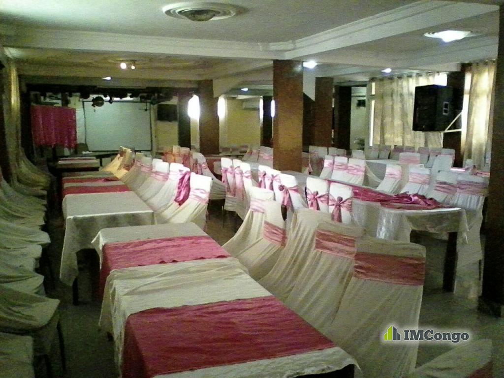 A louer Salle de Fête CRISTAL 2 Kinshasa Lingwala