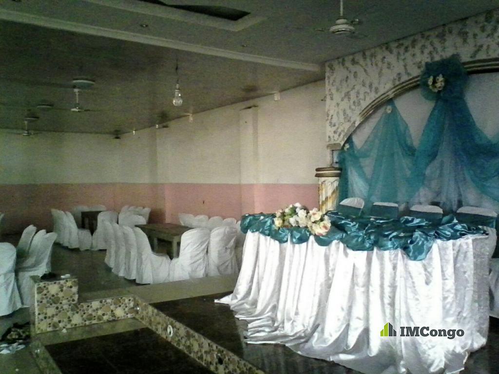 A louer Salle polyvalente Carrefour Familial Kinshasa Lemba