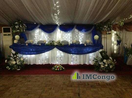 A louer Salle de Fête NKITA LODGE 1 Kinshasa Ngaliema