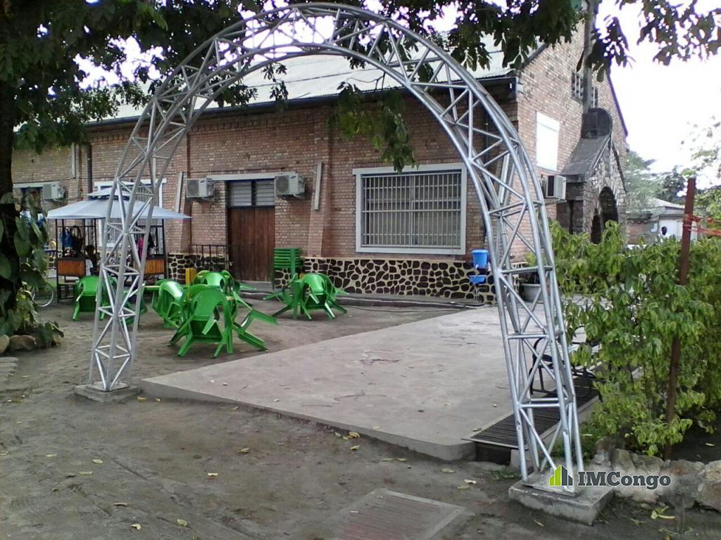 A louer Jardin de Fête Monalyse Center Kinshasa Kintambo