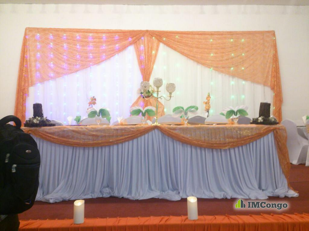 A louer Salle de Fête Monalyse Center Kinshasa Kintambo