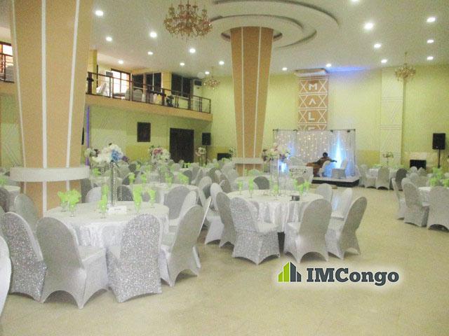 A louer Salle de Fête - Salon MALEBO Kinshasa Ngaliema