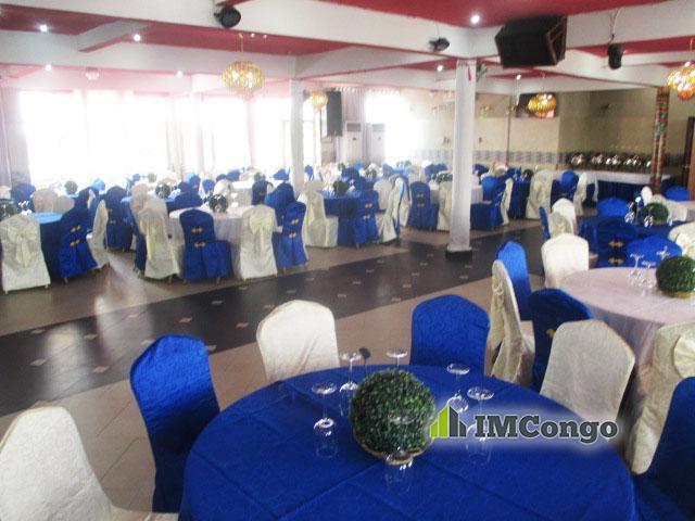 A louer Salle de fête - Salon Maniema Kinshasa Kasa-Vubu