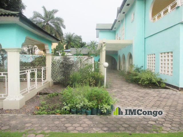 A louer Villa meublée -  Quartier Socimat  Kinshasa Gombe